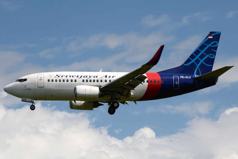 Avión de Sriwijaya Air.