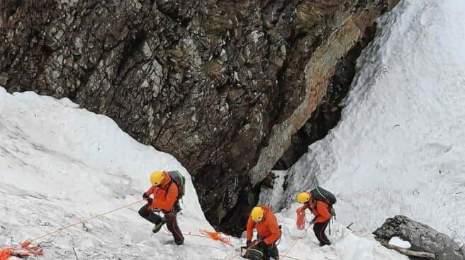 Los equipos de rescate buscaban al desaparecido desde hace un mes.