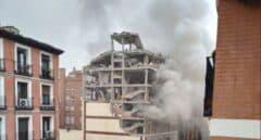 Al menos tres muertos y doce heridos tras la explosión de un edificio en Madrid