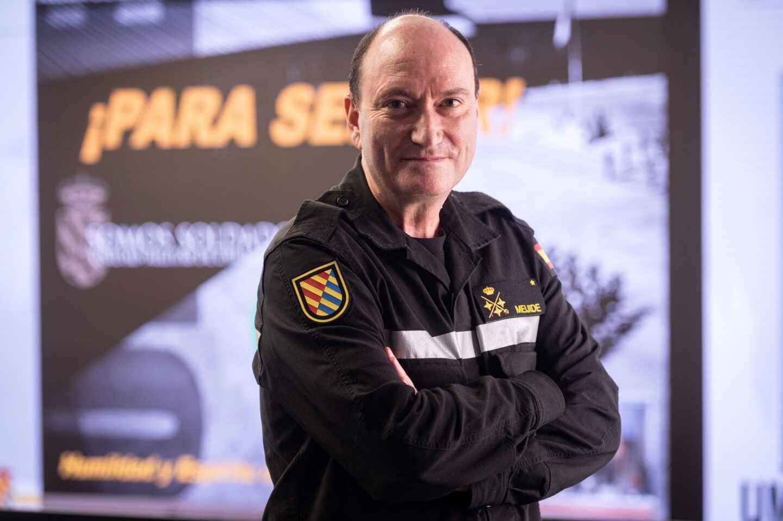 El general jefe de la Unión Militar de Emergencias (UME), Luis Martínez Meijide.