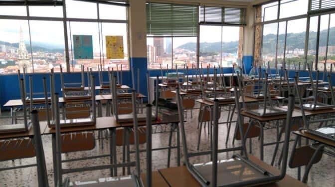 Aulas sin niños: Euskadi ha perdido un 30% de alumnos en sólo una década