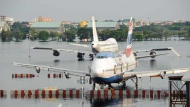 La otra amenaza del cambio climático: 360 aeropuertos en peligro por inundaciones
