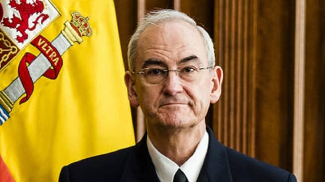 El almirante Teodoro López Calderón, nuevo JEMAD.