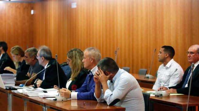 Imágenes del juicio por la muerte de Lucía Garrido.