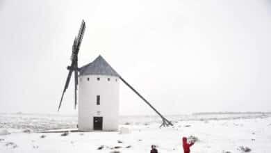 Galería: las imágenes de la borrasca Filomena que cubre de nieve a media España