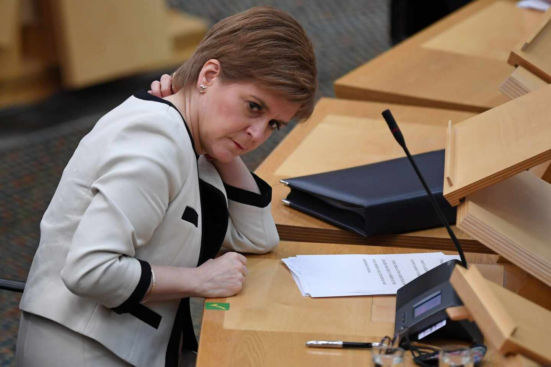 La primera ministra escocesa, Nicola Sturgeon.