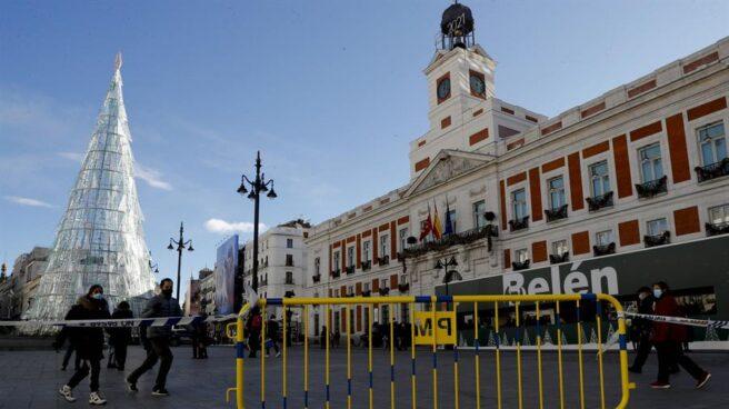 Puerta del Sol de Madrid.