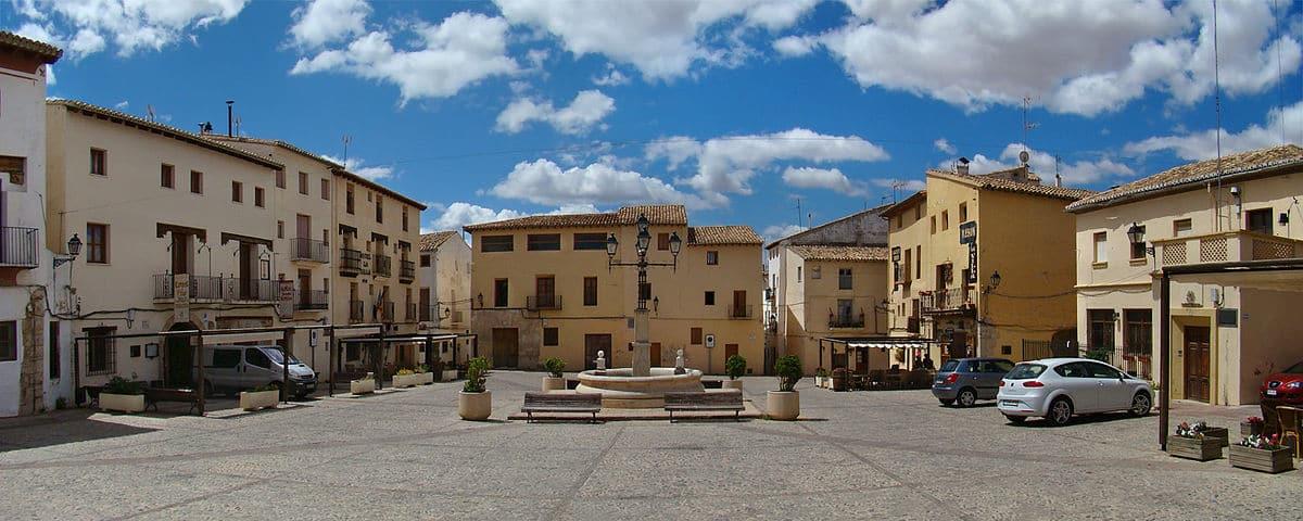 Plaza de La Villa de Requena (Valencia)