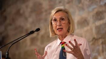 Rosa Díez denuncia ante Europa la actitud del Gobierno frente a los disturbios por Pablo Hasel