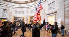 Leales a Donald Trump asaltan el Capitolio en Washington D.C.