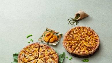 Telepizza presenta su línea de productos 100 % veganos