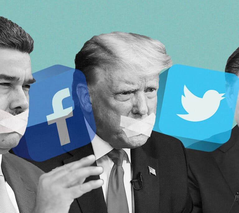 ¿Tienen Twitter y Facebook derecho a decidir qué se puede decir y qué no?