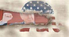 Los republicanos partidos por Trump