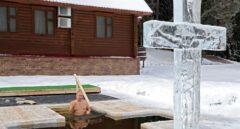 El baño en una poza de agua gélida de Vladimir Putin