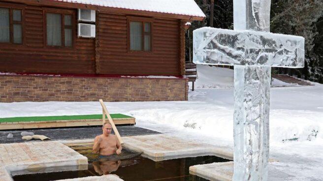 Vladimir Putin, en la Epifanía.