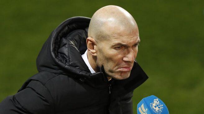 Zinedine Zidane, tras la eliminación del Real Madrid en la Supercopa.