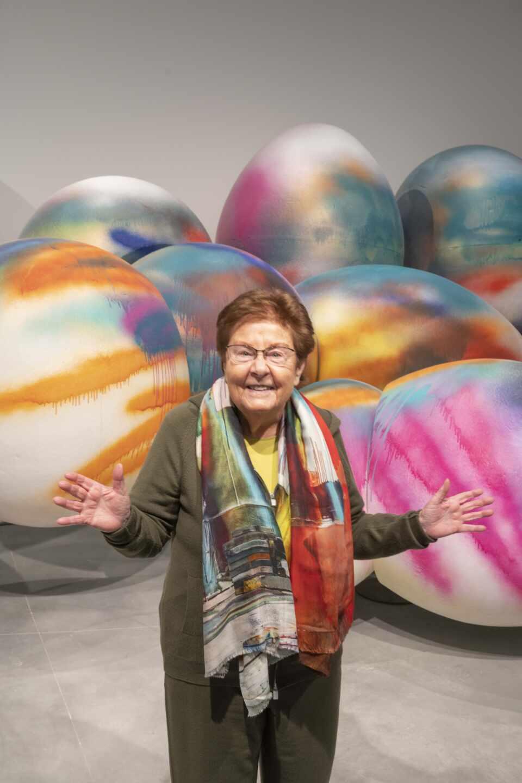 Helga de Alvear en su museo