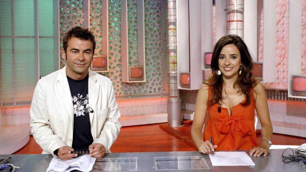 Jorge Javier Vázquez y Carmen Alcayde, en 'Aquí hay tomate'.
