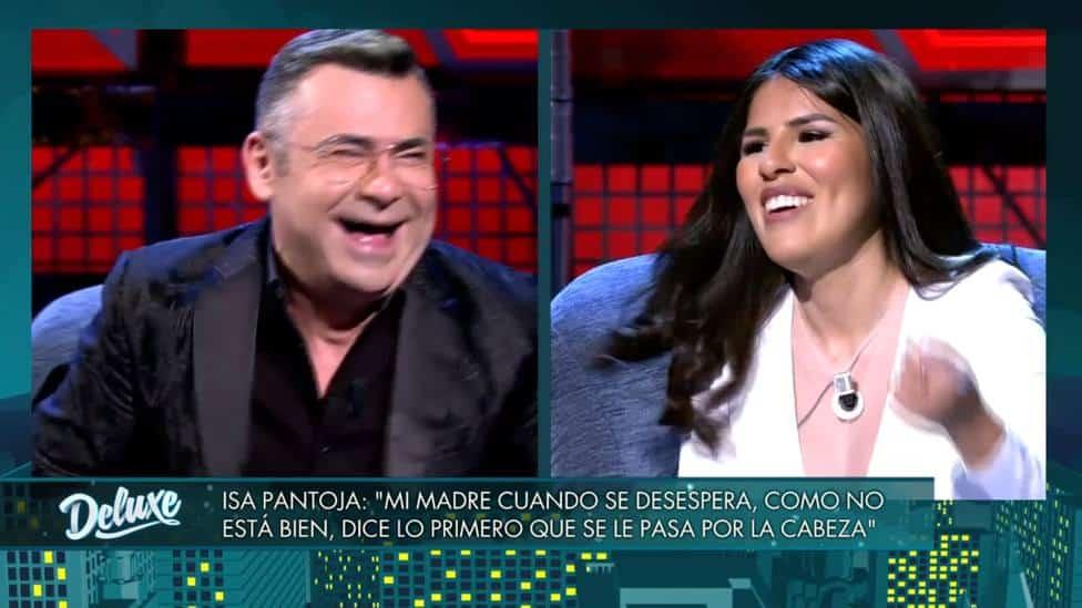 Jorge Javier e Isa Pantoja en 'Sábado Deluxe'