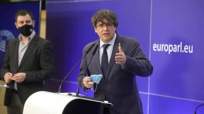 El eurodiputado de JxCat y expresidente de la Generalitat, Carles Puigdemont.