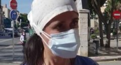 Raquel Romo, enfermera malagueña que ha viralizado su mensaje.