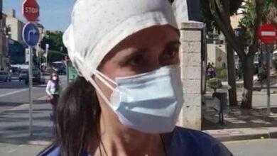 """Las lágrimas de una enfermera malagueña: """"Se elige quién vive"""""""