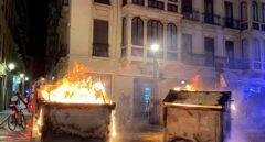 Las protestas en Granada por la detención de Hasel costarán 30.000 euros en daños a contenedores
