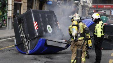 """Podemos Euskadi rechaza """"categóricamente"""" los incidentes en apoyo a Hasél"""