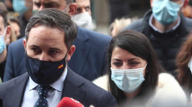 Santiago Abascal y Macarena Olona.