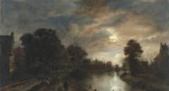 Los paisajes de Alberto Reguera, un homenaje a Van der Neer en la última exposición del Thyssen