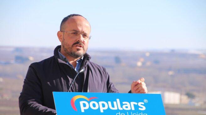 Alejandro Fernandez durante la campaña electoral
