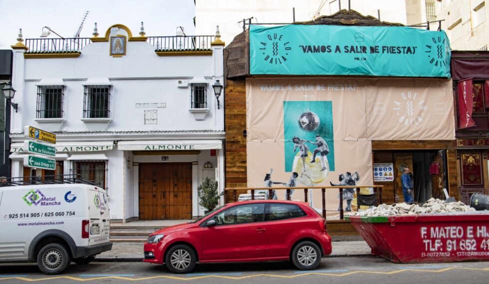 El tablao Almonte y la discoteca El Doblón, en Juan Bravo, cerraron por la crisis, pero ya hay obras de los nuevos dueños