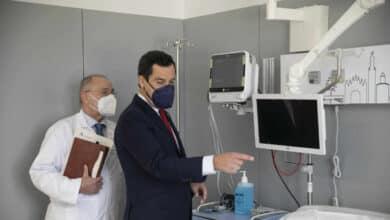 Andalucía estrena nuevo Hospital de Emergencia Covid con cifras de 700 pacientes en UCI