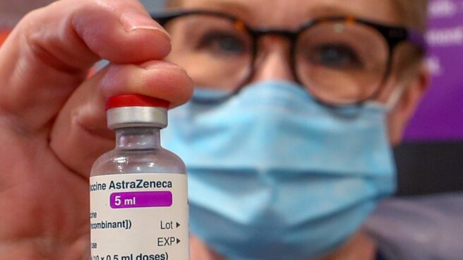 Vacuna de Oxford-AstraZeneca.