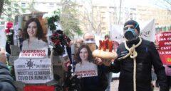 """La protesta de los hosteleros de Albacete contra los cierres: """"¡Queremos una Ayuso!"""""""