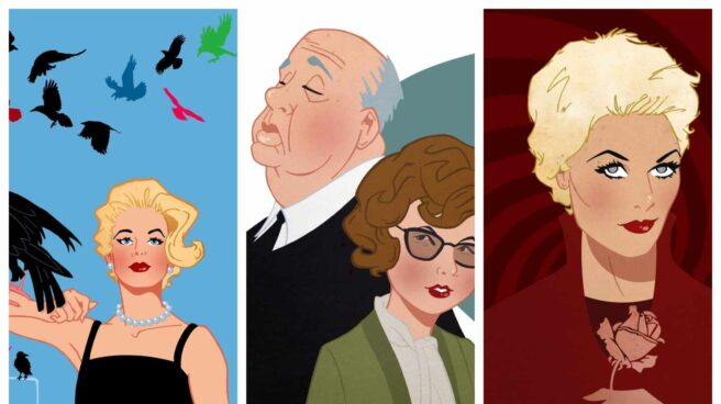 'El enemigo de las rubias', un repaso a las mujeres en la vida de Alfred Hitchcock