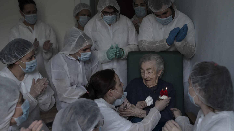 "El autor de la mejor foto del Covid: ""Refleja un momento de esperanza"""