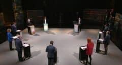 Los candidatos del 14-F recrudecen sus reproches en un bronco debate en TV3