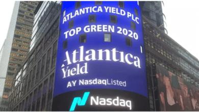 Atlantica coloca en el mercado financiero un bono verde de 400 millones de dólares