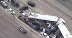 Más de 100 vehículos implicados en un accidente múltiple en Texas