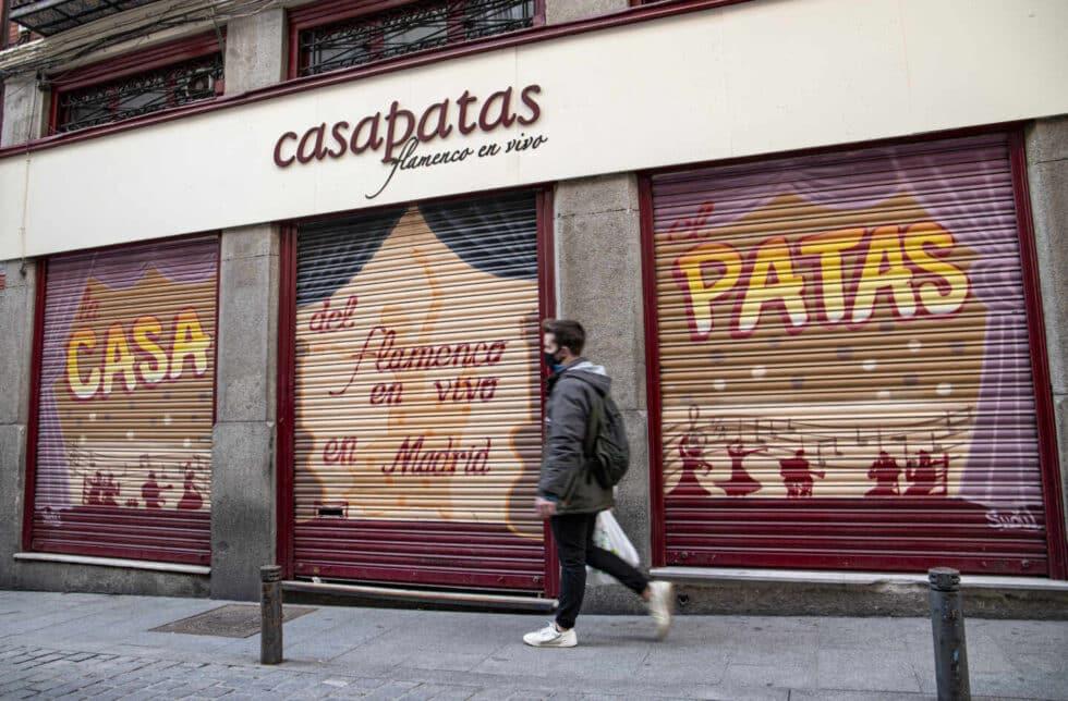 Casa Patas, templo del flamenco en Madrid durante más de tres décadas, bajó la persiana en mayo de 2020