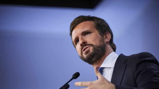 El líder del PP, Pablo Casado.