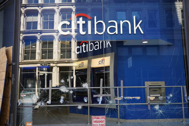Una oficina de Citibank