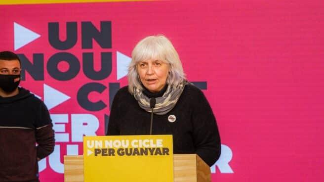 Dolors Sabater, líder de la candidatura de la CUP