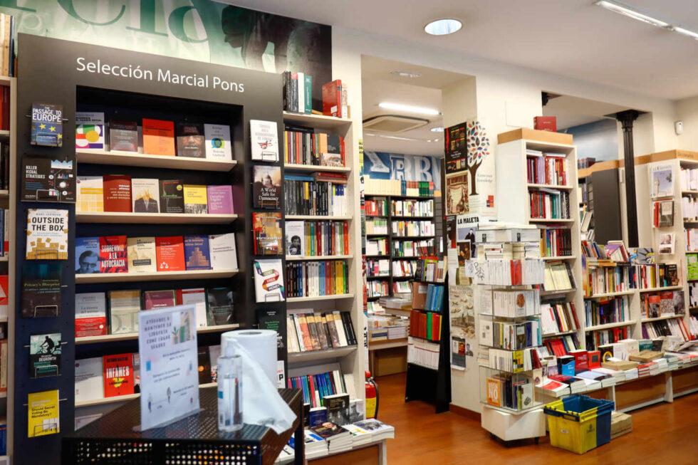 El interior de una librería independiente