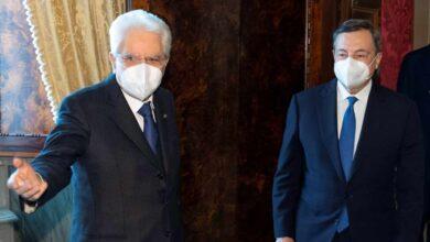 """Draghi acepta """"con reservas"""" formar un gobierno técnico de unidad en Italia"""