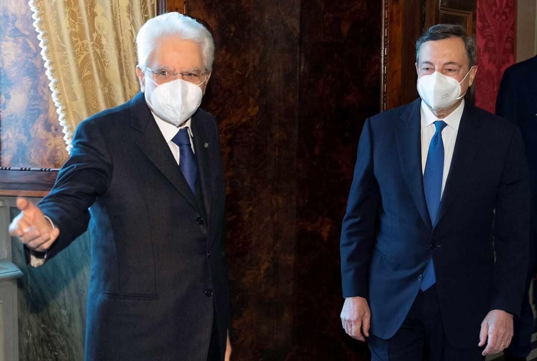 Mattarella-Draghi-Quirinal