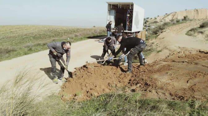 Ecologistas acusan a 'Cuéntame' de provocar daños durante un rodaje en las Barrancas de Burujón