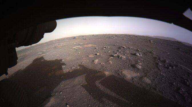 Las primeras imágenes de Marte que ha capturado el Perseverance