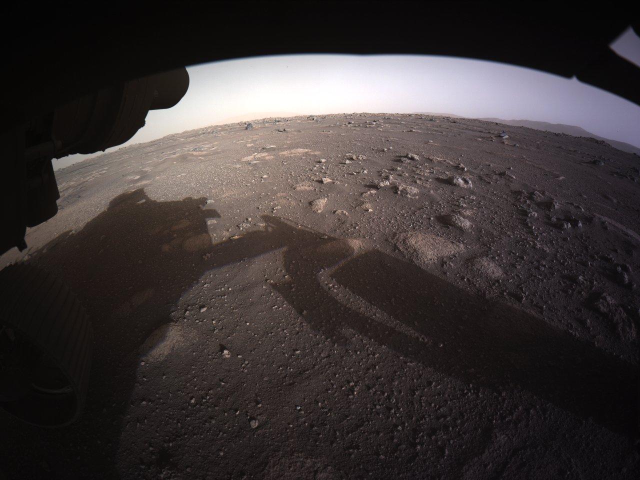Imágenes de Marte capturadas por el Perseverance.